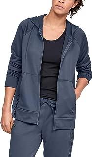 Under Armour Women's Tech Terry Fz Jacket, Grey (Downpour Grey/Black), Large