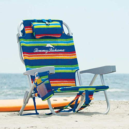 Tommy Bahama Beach Chair 2020 (Green Strips)