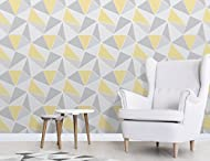 This wallpaper would be ideal for most rooms in any home, a certain eye catcher due to it's slick patterns and bold outlook. Roll Size - Length: 10.05m Width: 53cm Pattern Repeat: 53cm There may be a slight difference in shade with batch numbers
