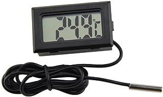 TRIXES Nuevo Mini Termómetro Digital con Monitor LCD para