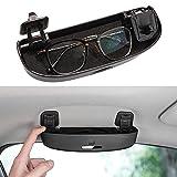 Thenice for 10th Gen Civic Glasses Sunglasses Case Holder Grab Hnadle Storage Box for Honda Civic 2016-2021,Accord 2018-2021, CR-V 2017-2021, Insight 2016-2021 -Black