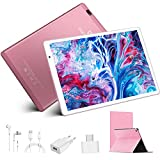4G Tablette Tactile 10.1 Pouces Full HD, 4Go RAM 64/128Go ROM WiFi Tablette Android...