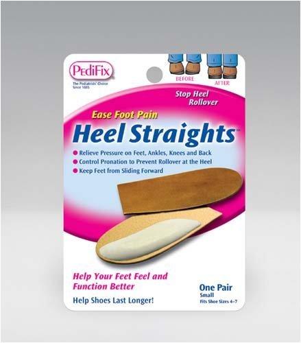 Pedifix (a) Heel Straights Medium Pair