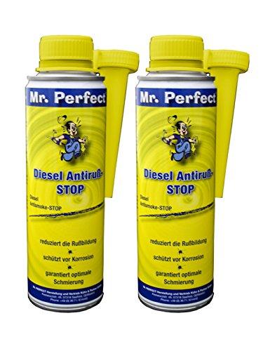 Mr. Perfect® Diesel Anti Suie Stop Additif pour moteurs diesel, 2 x 250 ml