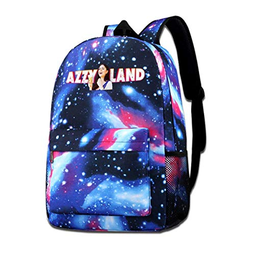 Lawenp Unisex Galaxy Bookbag AzzyLand Game Backpack Bag for Men Women Teenagers