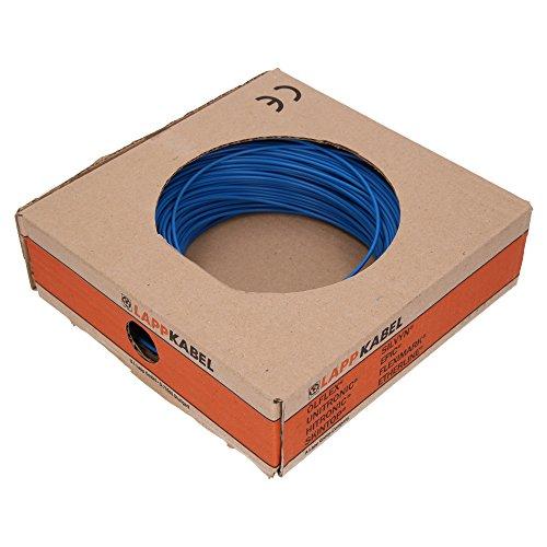 Lapp 4510021 H05V-K 1X0,5 blau PVC-Aderleitung