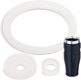 2 Sets of Thermos Stainless King (TM) -Compatible 16 Ounce Travel Tumbler/Mug Gaskets/Seals by Impresa Products - BPA-/Pht...