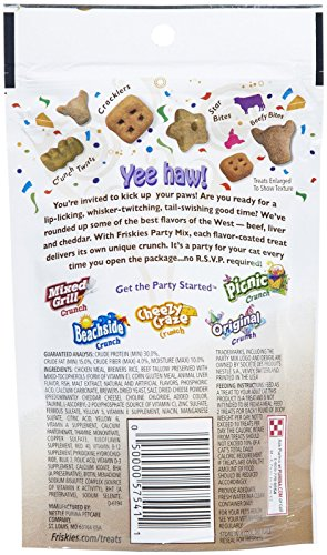 Friskies Party Mix - Wild West Crunch - 2.1 Oz