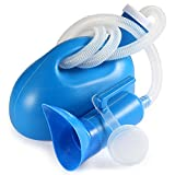 Bestool Botella mingitoria, universal, portátil, de 2000ml con adaptador femenino, para hospitales, camping, coches, viaje, azul