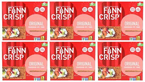 Finn Crisp Oryginalny chrupiący chleb żytni (200 g) - opakowanie 6 szt.