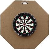 Dart-Stop 36 inch Tan Octagon Pro Dart Board Back Board | Wall Protector | Dartboard Surround