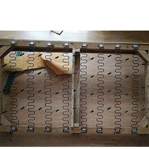 NO LOGO ZZB-LSTH, Reparación de 5 Piezas de Acero de Primavera Sofá Primavera por Encargo de la Serpiente de Primavera (Size : 50cm 5pcs)
