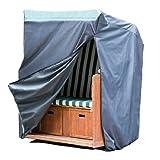 Premium Strandkorb Schutzhülle 130x100x170/134 cm - wasserdicht 420D Oxford 18041