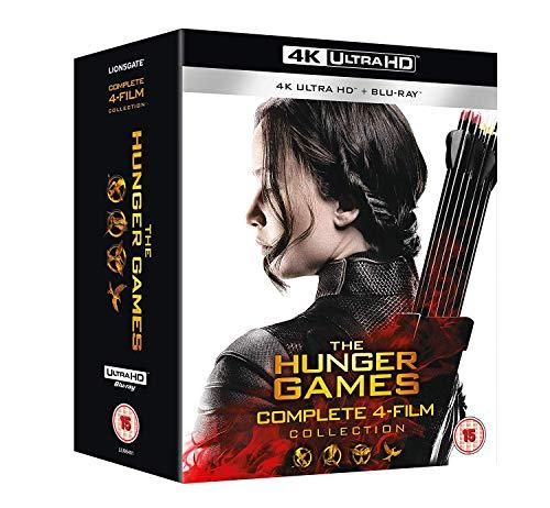 Hunger Games Complete 1-4 Uhd Bd [Edizione: Regno Unito] [Blu-ray]