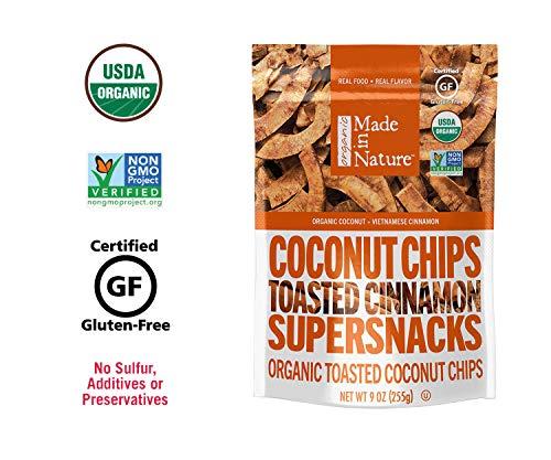 Organic coconut chips