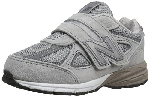 New Balance New Balance KV990V4 Infant Running Shoe (Infant/Toddler), Grey/Grey, 21 W EU