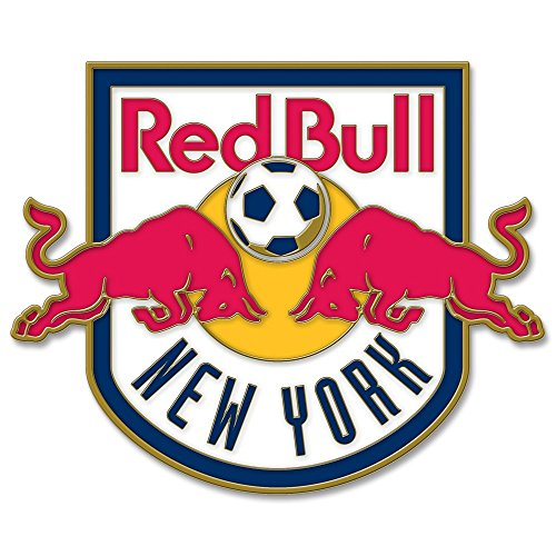 WinCraft Soccer New York Red Bulls Collector Pin Jewelry Card