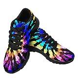 InterestPrint Women Tennis Shoes Lightweight Walking Sneakers Breathable Athletic Training Sneakers...