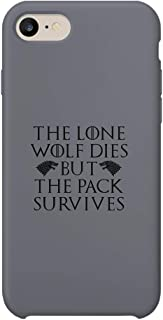 Game Thrones GOT of Tv Series Inspired Wolf Survival Pack Quote_MA0510 Protective Phone Mobile Smartphone Case Cover Hard Plastic for Compatible with Samsung Galaxy S6 Novelty Gift