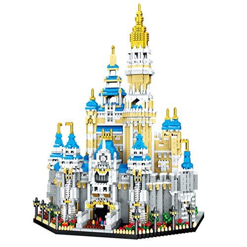 YYDE Juguetes de ensamblaje, Conjunto de Bloques de construcción del Castillo, Modelo de Arquitectura Famosa 3D Puzzle Micro Mini Ladrillos Juguetes para Colecciones y Regalos (5297pcs)