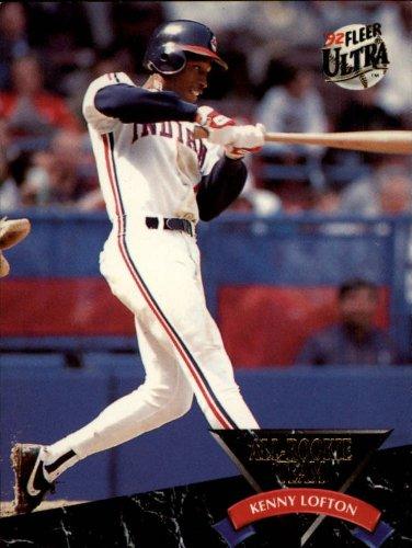 1992 Fleer Ultra All-Rookies Baseball Rookie Card #7 Kenny Lofton