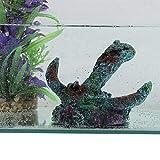 Pangding Decorazione dell'acquario, Decorazione degli Ornamenti del carro Armato di Pesce della Barca della Resina di Simulazione