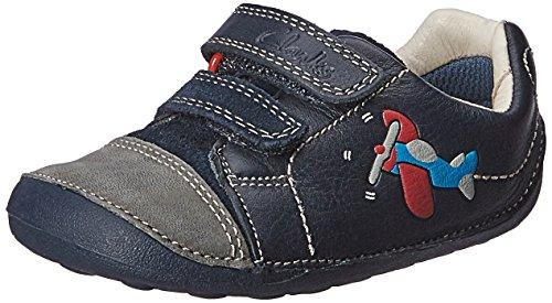 Clarks Tiny Jet - Calzado de Primeros Pasos para niños, Color Azul,...