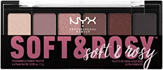 NYX PROFESSIONAL MAKEUP Soft & Rosy Eyeshadow Palette, 0.21 Ounce