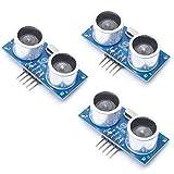 HiLetgo 3pcs HY-SRF05 Ultrasonic Sensor Module DC 5V HY-SRF05 Distance Measure Sensor for Arduino Raspberry Pi