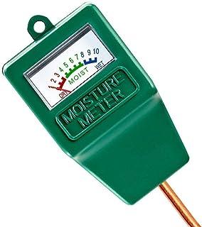 Soil Moisture Meter,Plant Hygrometer Moisture Sensor Plant Water Monitor for Potted Plants,Garden,Farm, Lawn(No Battery Ne...
