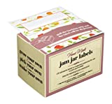 KitchenCraft Home Made Jam Jar Labels, Pack of 100