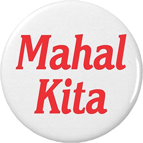 "Mahal Kita 2.25"" Large Magnet I Love You Filipino"