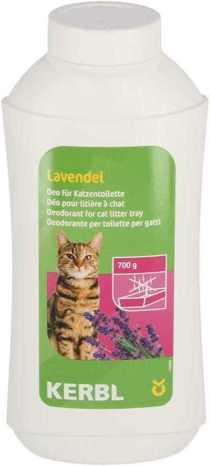 Desodorante concentrado 700g para arenero de gato, lavanda