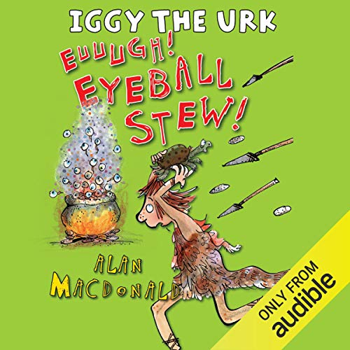 Iggy the Urk: Euuugh! Eyeball Stew! copertina