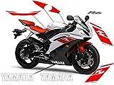 Kit adhesivos Yamaha R6 2008/09/10 rojos