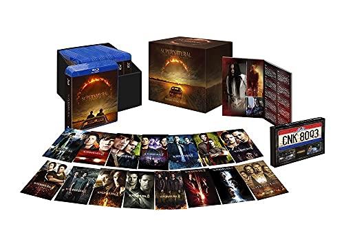 (初回限定生産)SUPERNATURALブルーレイ コンプリート・シリーズ(57枚組+ボーナス・ディスク4枚付/封入特典付) [Blu-ray]