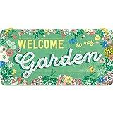 Nostalgic-Art Targa da Appendere Home & Country – Garden – Idea Regalo per Il Giardino...