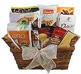 gourmet gift basket, thank you, congrats, birthday gift - praline wafers, chocolates,
