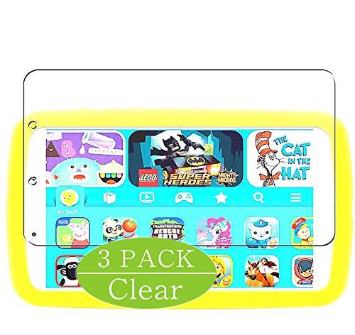 Vaxson - Protector de pantalla compatible con Samsung Galaxy Tab A Kids Edition 2019 de 8 pulgadas, HD, protector de pantalla [no vidrio templado]