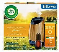 Air Wick Essential Mist Bluetooth エアーウィック エッセンシャルミスト ブルートゥース 芳香剤(スターターキット+詰め替え) [並行輸入品]