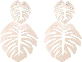 Best palm leaf drop earrings Reviews