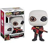 Funko Deadshot [Masked]: Suicide Squad x POP! Heroes Vinyl Figure & 1 POP! Compatible PET Plastic Graphical Protector Bundle [#106 / 08360 - B]