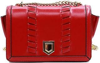 NOBASIC FLAP BAG FOR WOMEN, RED