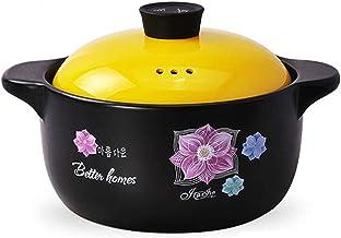 Home Gas Casserole Casserole Soup Pot Ceramic Stew Pot Porridge Stewed Stone Pot Open Flame Heat Resistant