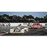 Zhengnengliang Le Mans Carrera Panamericana Nurburgring Posters Impresión en Lienzo Imágenes artísticas de Pared nórdica para la decoración del hogar de la Sala de Estar 50x70cm J-1395
