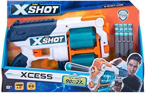 Grandi Giochi- X-Shot Excess, Multicolore, GG-46021