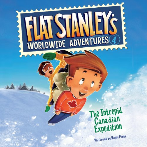 Flat Stanley's Worldwide Adventures #4 Titelbild