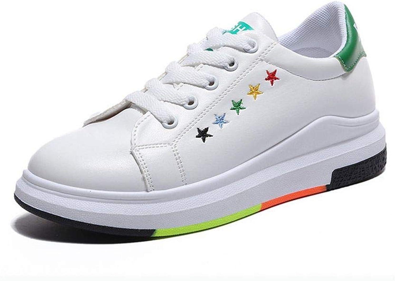 YSSFU gympaskor Kvinnliga skor Skor Vit Plattform skor duk skor skor skor Damer gummisulor Casual Ladies skor Lämplig Student springaning Flang Walk LättAndningsbar utomhus  upp till 70%