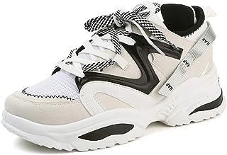 7156fe8516d89 Mixte Adulte Chaussure de Sport Outdoor pour Multisport Compensé Respirant  Femme Homme Chaussure Basket Mode de