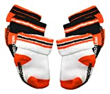 Harley-Davidson Baby Boys' Socks, Three Pack, Orange/Black/White S9ABI63HD